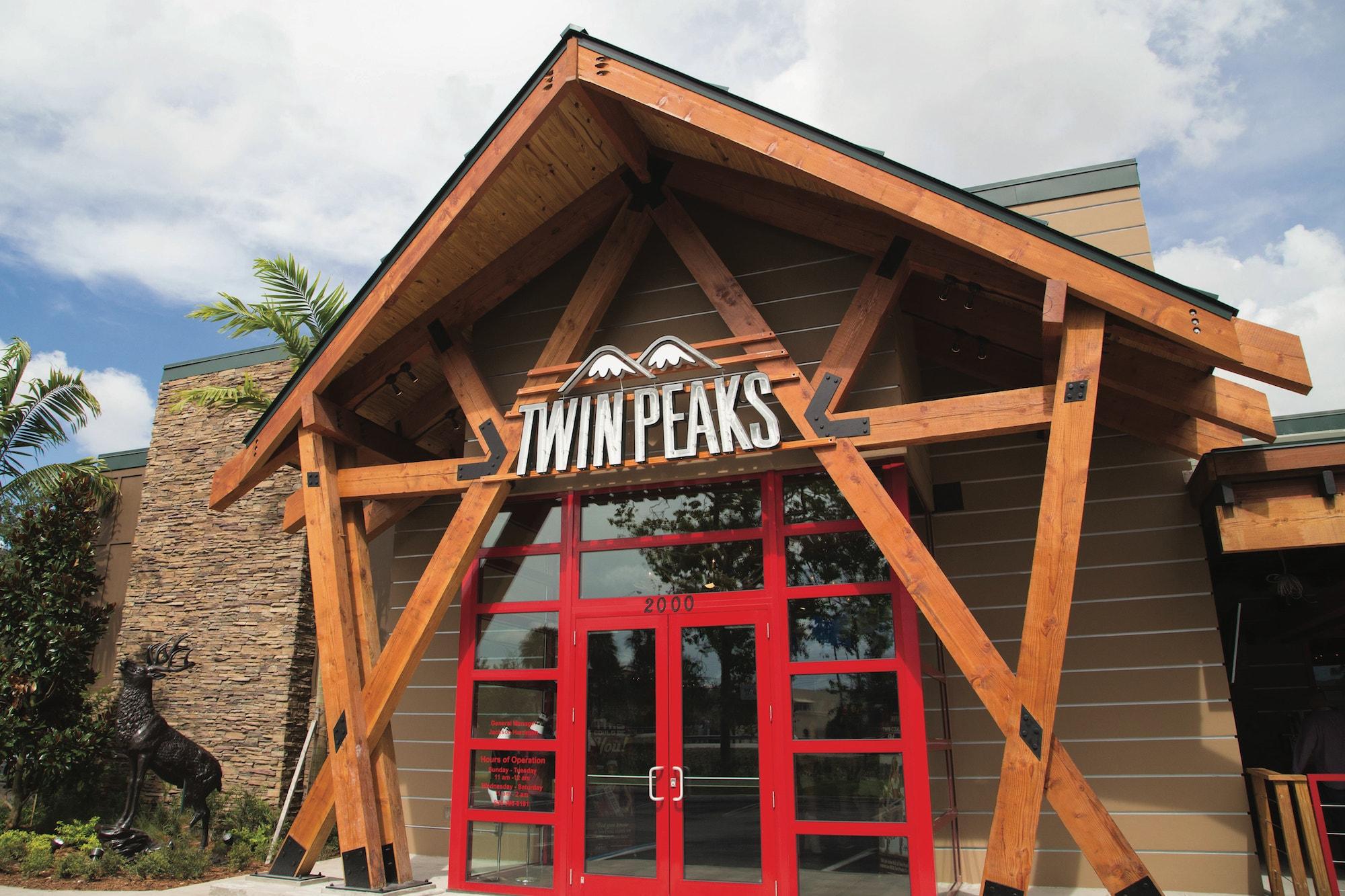 exterior of restaurant franchise
